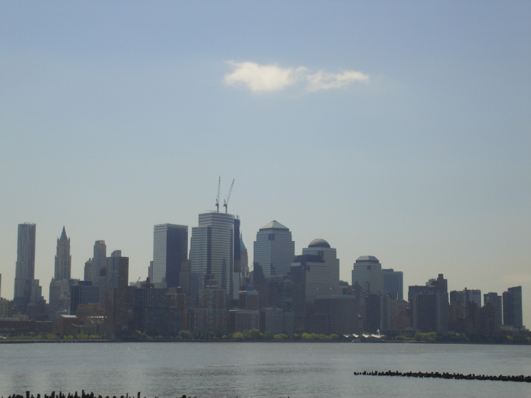 New Jersey Skyline from the Hudson Ferry.