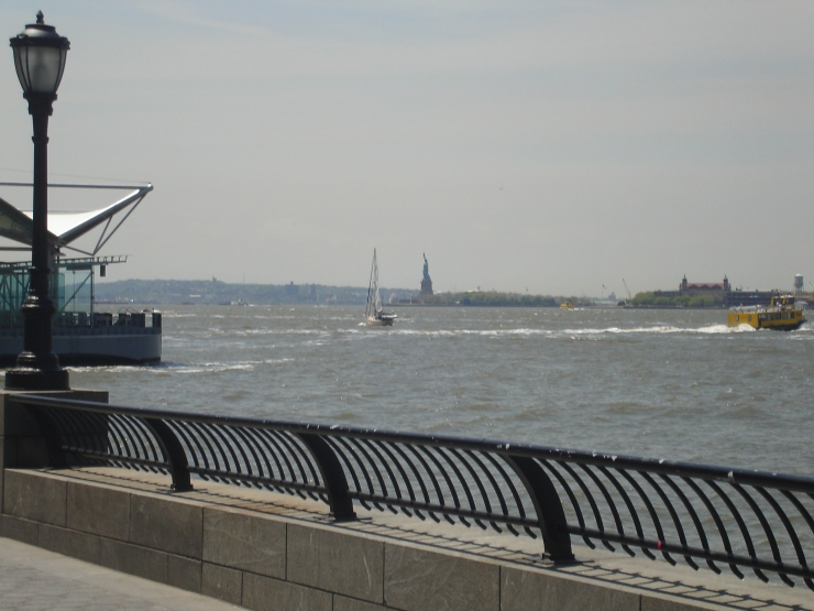 Battery ParK waterfront NYC